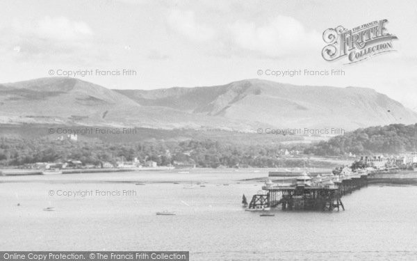 Photo of Glyngarth, View Towards Bangor Pier c.1960