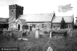 Parish Church c.1955, Glynogwr