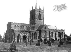 Gnosall, Church Of St Lawrence 1899
