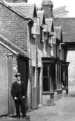 Gnosall, Cottages In The Village 1899