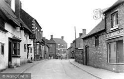 High Street c.1950, Gnosall