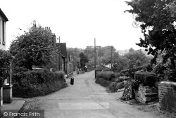 Gnosall, Station Road c.1950