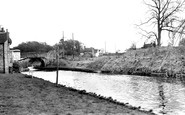 Gnosall, the Canal c1960