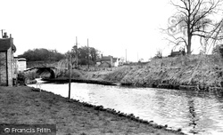 Gnosall, The Canal c.1960