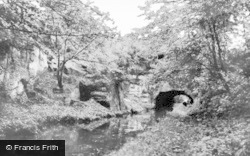 Gnosall, The Quarry Tunnel c.1960