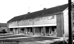 Gnosall, The Shops, Wharf Road c.1960