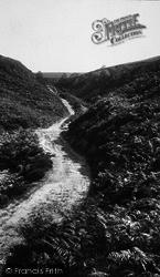 Goathland, A Moorland Path 1923