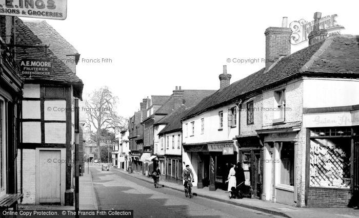 Godalming, Bridge Street c1955