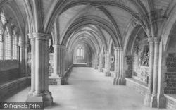 Godalming, Charterhouse, Cloisters 1906