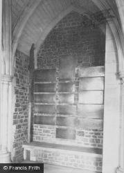 Godalming, Charterhouse, Cloisters, Memorial Brass 1906