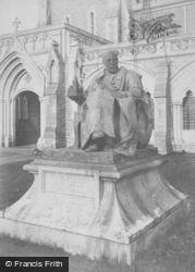 Godalming, Charterhouse, Haig Brown Statue 1903
