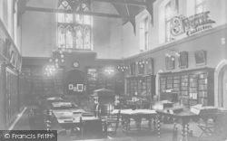 Godalming, Charterhouse, Library 1903