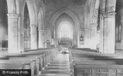 Godalming, Church Of St Peter And St Paul, Interior 1906