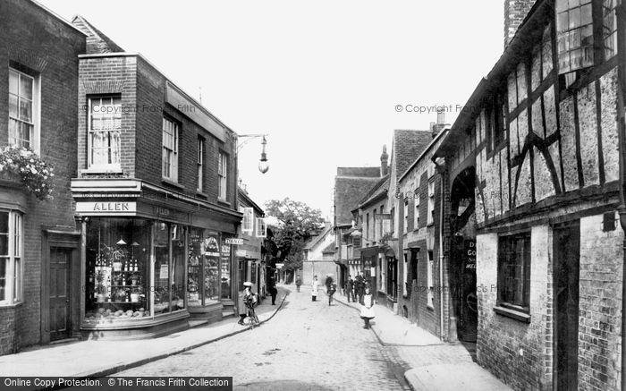 Photo of Godalming, Church Street 1906