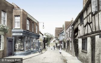 Godalming, Church Street 1906
