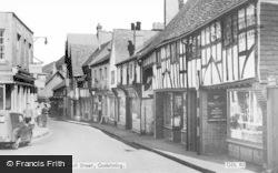 Godalming, Church Street c.1960