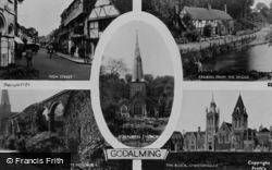 Godalming, Composite c.1955