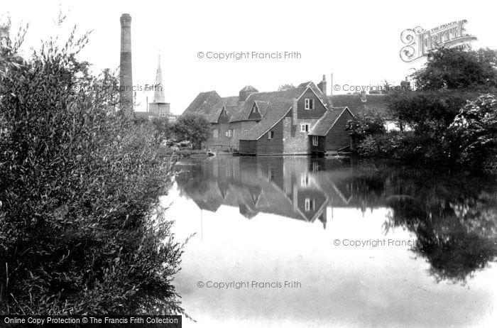 Godalming,Flour Mill 1908,Surrey
