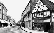 Godalming, High Street 1895