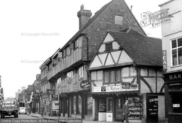 Godalming, High Street c1955