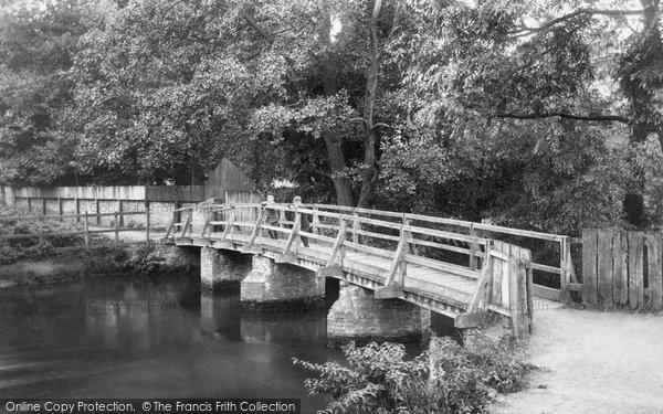 Photo of Godalming, Old Boarden Bridge 1906