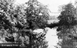 The River Wey c.1960, Godalming