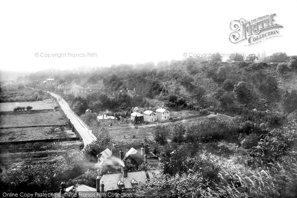 Photo of Godalming, View From Frith Hill 1898