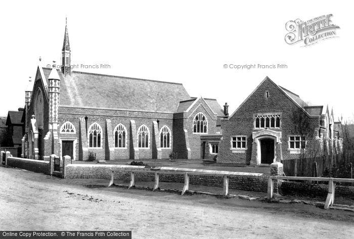 Godalming, Wesleyan Church and School 1903