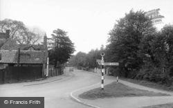 Cambridge Road c.1955, Godmanchester