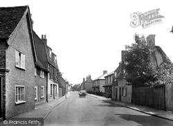 Godmanchester, Cambridge Street 1929
