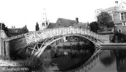 Godmanchester, Chinese Bridge c.1960