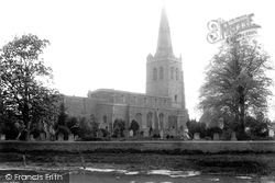 Godmanchester, Church Of St Mary The Virgin 1898