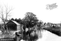 Godmanchester, From The Old Mill 1898