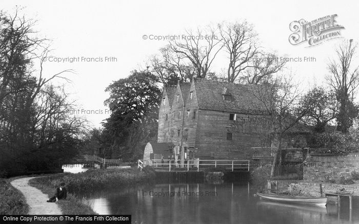 Godmanchester,Old Mill 1898,Cambridgeshire