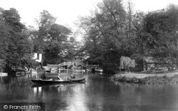 Godmanchester, On The River Ouse 1901