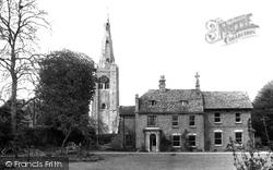 Godmanchester, Parish Church Of St Mary The Virgin c.1955