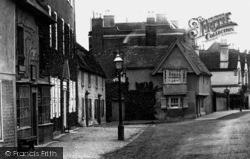 Godmanchester, Post Street 1898