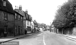 Godmanchester, Post Street c.1955