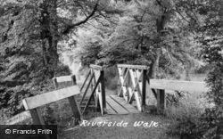 Riverside Walk c.1955, Godmanchester