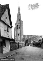 Godmanchester, St Mary's Church c.1955