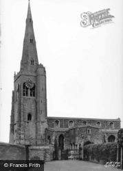 St Mary's Church c.1955, Godmanchester