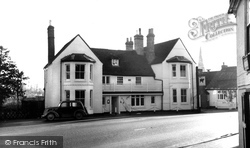 Godmanchester, The Black Bull Hotel c.1955