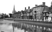 Godmanchester, the Causeway c1950