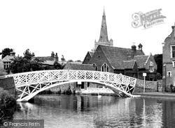 Godmanchester, The Chinese Bridge c.1950