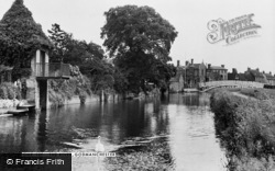 Godmanchester, The River c.1950