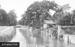 Godmanchester, The River c.1955