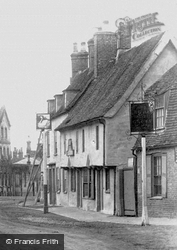 The White Swan And The Rose And Crown 1898, Godmanchester