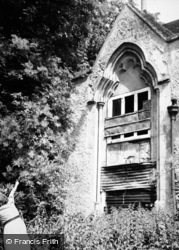Godmersham, Court Lodge Window c.1950
