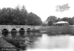 Godmersham, The Bridge 1909