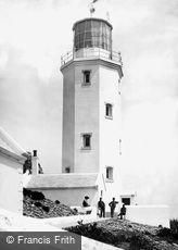 Godrevy Island, the Lighthouse 1890